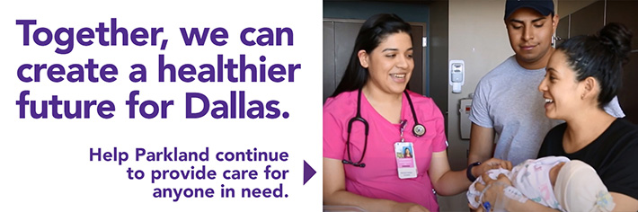 Together, we can create a healthier future for Dallas.