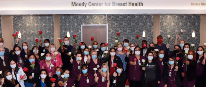 Moody Center for Breast Health offers state-of-the-art, comprehensive care for Parkland patients