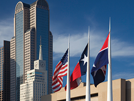 Dallas Skyline Photo