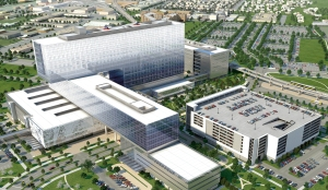 Architectural Image of New Parkland Hospital